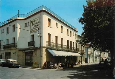 "CPSM FRANCE 34 ""Florensac, Hôtel Restaurant Léonce"""
