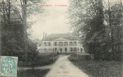 "CPA FRANCE 10 ""Chamoy, le chateau"""