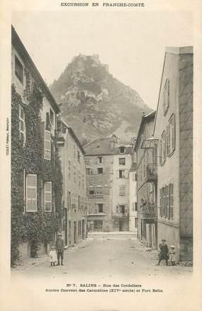 """CPA FRANCE 39 """" Salins, Rue des Cordliers, ancien couvent des Carmélites, '"""