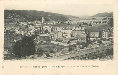"""CPA FRANCE 39 """"Environs de Morez, Jura, Les Rousses, Le Lac et la Dent du Vaulion'"""
