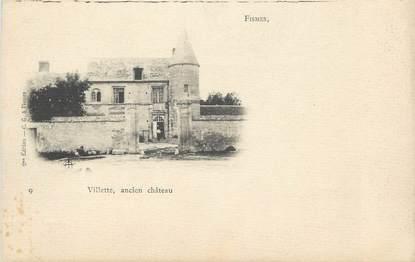 """CPA FRANCE 51 """"Fismes, Ancien château"""""""