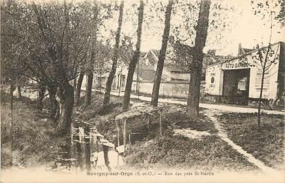 """CPA FRANCE 91 """" Savigny sur Orge, Rue des Prés St Martin"""""""
