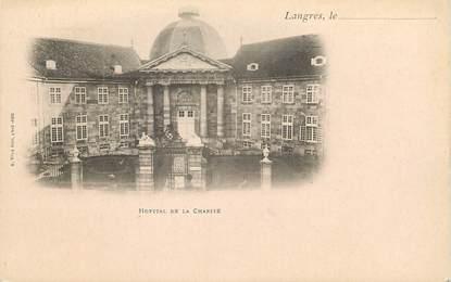 """CPA FRANCE 52 """" Langres, Hôpital de la Charité"""""""