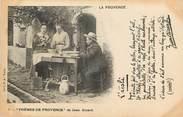 """13 Bouch Du Rhone CPA FRANCE 13 """"série la Provence, L'Aïoli"""" / FOLKLORE / JEAN AICARD"""