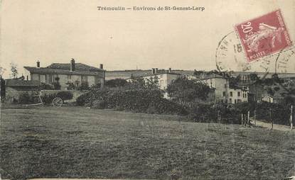 """CPA FRANCE 42 """" Trémoulin"""""""