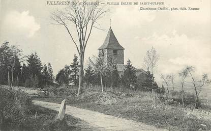 """CPA FRANCE 42 """" Villerest, Vieille église de St Sulpice"""""""