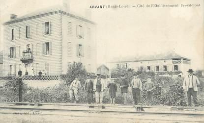 """CPA FRANCE 43 """" Arvant, Cité de l'établissement Freydefont"""""""