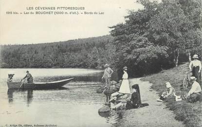 """CPA FRANCE 43 """" Le Lac du Bouchet"""""""