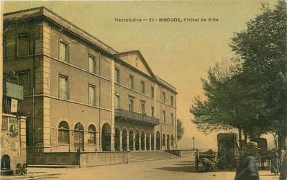 """CPA FRANCE 43 """" Brioude, L'Hôtel de Ville"""""""