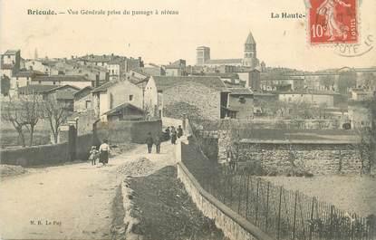 """CPA FRANCE 43 """" Brioude, Vue générale prise du passage à niveau"""""""