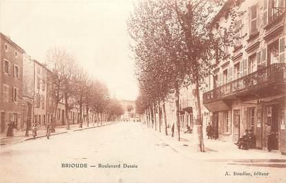 "CPA FRANCE 43 "" Brioude, Boulevard Desaix"""