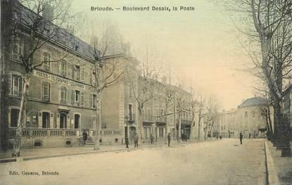 """CPA FRANCE 43 """" Brioude, Boulevard Desaix, La Poste"""""""