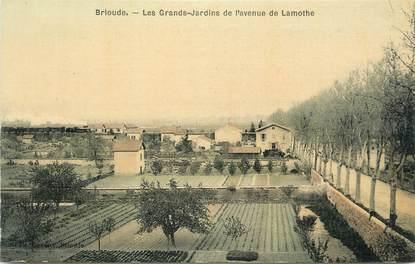 """CPA FRANCE 43 """" Brioude, Les Grands Jardins de l'Avenue Lamothe"""""""