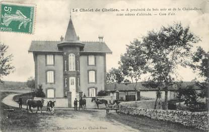 """CPA FRANCE 43 """" Près de la Chaise Dieu, Le Chalet de Chelles"""""""