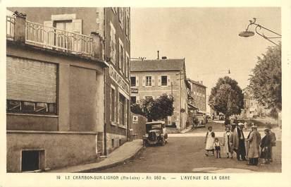 "CPA FRANCE 43 "" Le Chambon sur Lignon, L'Avenue de la Gare"""
