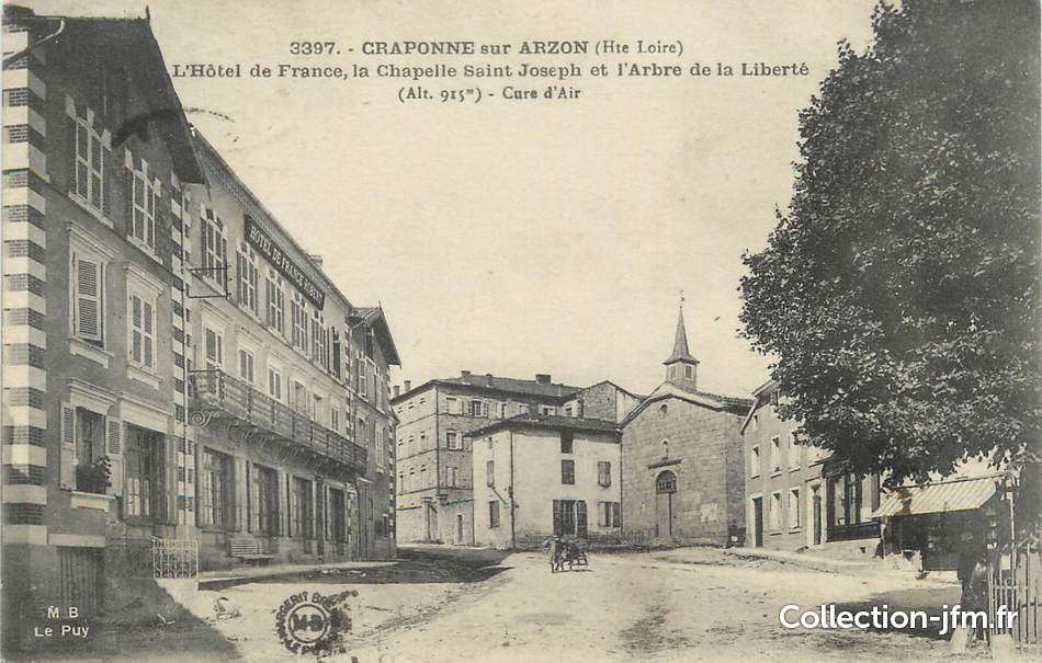 Craponne France  city images : CPA FRANCE 43