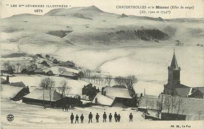 """CPA FRANCE 43 """" Chaudeyrolles, Le Mézenc"""""""