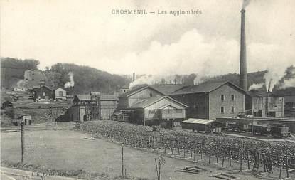 """CPA FRANCE 43 """"Grosménil, Les agglomérés"""""""
