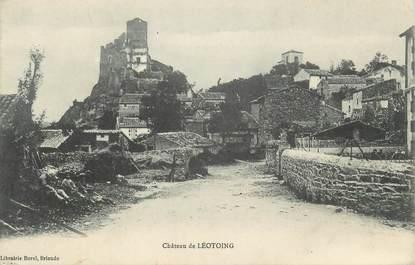 """CPA FRANCE 43 """"Léotoing, Le château"""""""