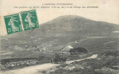"""CPA FRANCE 43 """"Les Estables, Vue générale du village et le Mont Mezenc"""""""