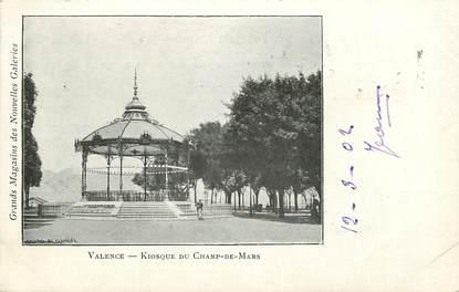 "CPA FRANCE 26 ""Valence, Kiosque du Champ de Mars"" / Ed. J. Céas & Fils"