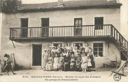 "CPA FRANCE 43 ""Malataverne, Maison de Repos des Aveugles"""
