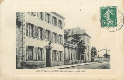 """CPA FRANCE 43 """"Monistrol sur Loire, Hôtel Mallet"""""""