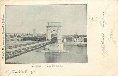 "CPA FRANCE 26 ""Valence, Pont du Rhone"" / Ed. J. Céas & Fils"