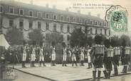 """43 Haute Loire CPA FRANCE 43 """" Le Puy en Velay, La 2ème fête du régiment , la théorie aux conscrits du 86ème de ligne"""""""