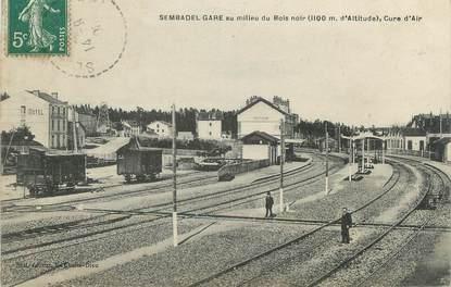 "CPA FRANCE 43 "" Sembadel, La gare"""