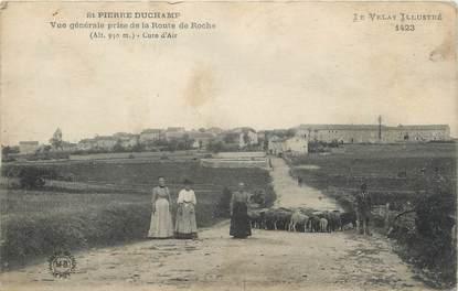 """CPA FRANCE 43 """" St Pierre Duchamp, Vue générale prise de la Route de Roche"""""""
