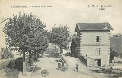 """CPA FRANCE 43 """" Yssingeaux, L'Avenue de la Gare"""""""