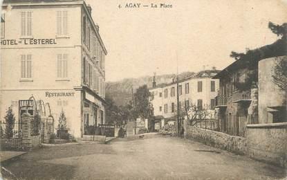 "CPA FRANCE 83 "" Agay, La Place"""