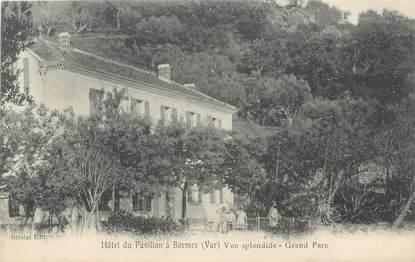 """CPA FRANCE 83 """" Bormes les Mimosas, Le Grand Hôtel du Pavillon """""""
