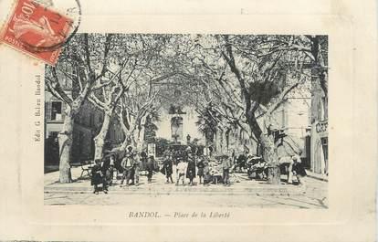 "CPA FRANCE 83 "" Bandol, La Place de la Liberté"""