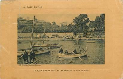 Cpa france 83 carqueiranne un coin du port des salettes 83 var autres communes 83 - Coiffeur du port carqueiranne ...