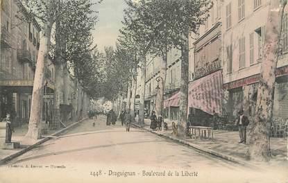 "CPA FRANCE 83 "" Draguignan, Boulevard de la Liberté"""