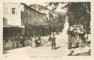 """83 Var CPA FRANCE 83 """"Hyères, Place de Massillon"""""""