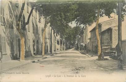 """CPA FRANCE 83 """"Le Luc, L'Avenue de la Gare"""""""