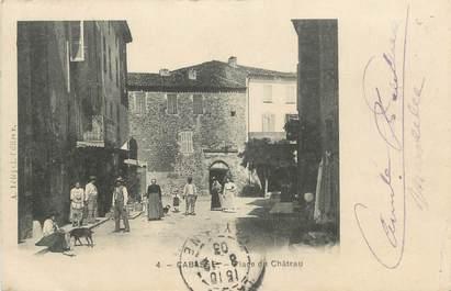 """CPA FRANCE 83 """" Cabasse, Place du Château"""""""