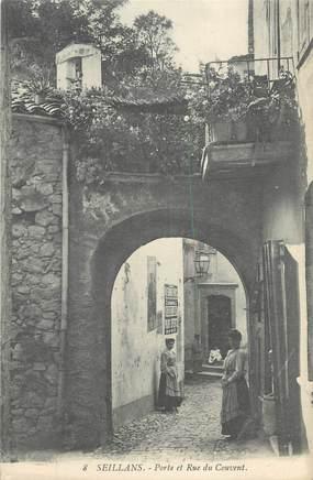 Cpa france 83 seillans porte et rue du couvent 83 - Mise a la porte du couvent ...