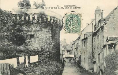 """/ CPA FRANCE 58 """"Nevers, tour Saint Eloi"""""""