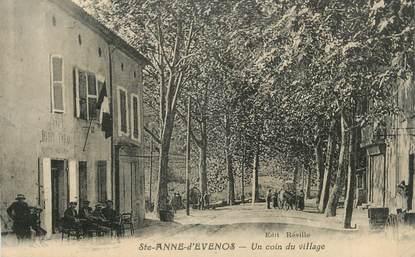 "CPA FRANCE 83 ""Ste Anne d'Evenos, Un coin du village"""