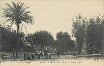 "CPA FRANCE 83 "" St Tropez, Place Carnot"""