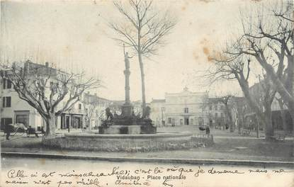 "CPA FRANCE 83 "" Vidauban, Place Nationale"""