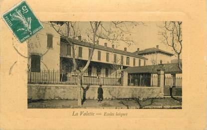 """CPA FRANCE 83 """" La Valette, Les écoles laïques"""""""