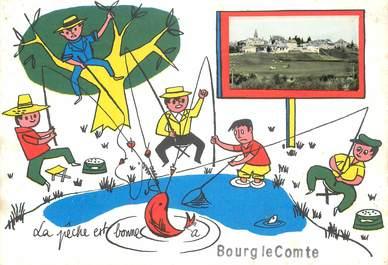 """CPSM FRANCE 71 """"Bourg le Comte"""""""