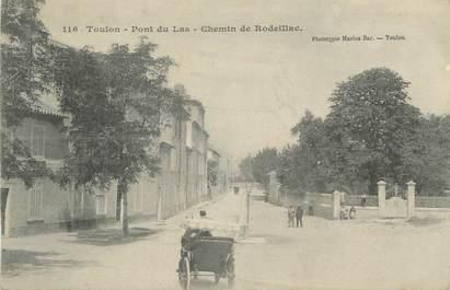 """CPA FRANCE 83 """" Toulon, Pont du Las, Chemin de Rodeillac"""""""