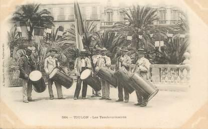 "CPA FRANCE 83 "" Toulon, Les Tambourinaires"""