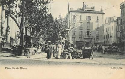"CPA FRANCE 83 "" Toulon, La Place Louis Blanc"""